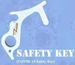 COVID-19 Safety Key Chain