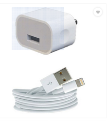 BESTSUIT Wall Charger Accessory Combo For Apple IPhone 6