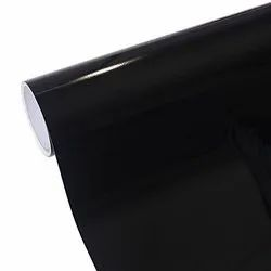 Vinyl Black Gloss Car Roof Wrapping Roll, Cast Vinyl, Bubble Free Wrap, Three Layer, 90 Colour.