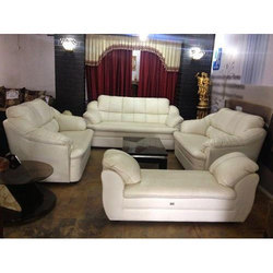 Plain Sofa Set