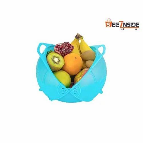 Plastic Fruit And Vegetables Washing Bowl