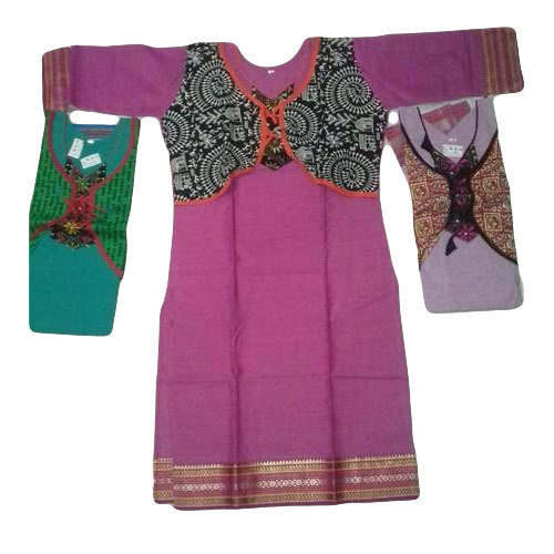 Cotton Casual, Party Wear Handloom Kurti