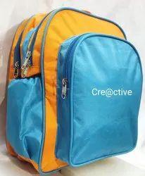 1000 Denium Plain Kids Bag