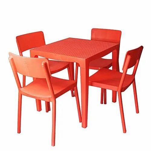 Cello Eskimo Plastic Dining Table Set