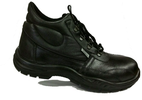 30d6be40dadd Mayur High Ankle Black Safety Shoes With PU Sole,Size:6-12, Rs 700 ...