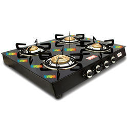 Quadra Designer 4 Burner Glass Cooktop