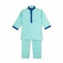 Sea Green Boys Kurta Pyjama