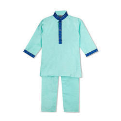 Kids Boys Light Blue Kurta Pyjama