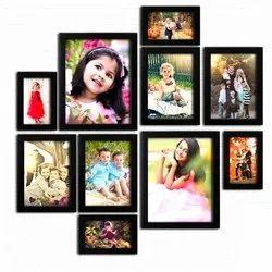 Kids Fiber Photo Frame Set
