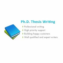 PHD Thesis Writing Service