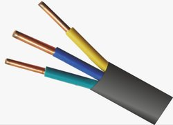 3 Core Flat Solid Copper Cable