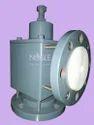 Noble Ptfe Pressure Safety Valve, Size: 50nb Flange, Prvptfe/cs/50