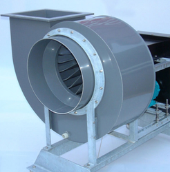 Galvanised Steel Centrifugal Cooler Fan