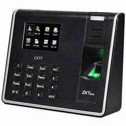 LX17 ZKTeco Biometric Time Attendance Terminal