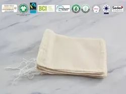 Gots Organic Cotton Muslin Bag