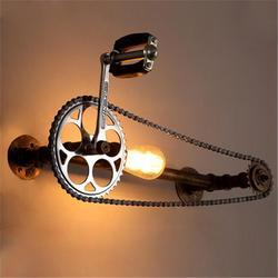 Industrial Wall Lamp, Antique Wall Lightning