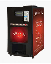 Atlantis Cafe Plus Coin Operated Vending Machine
