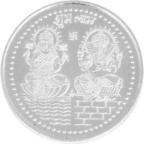 999 Purity Silver Coin At Rs 215 Gram