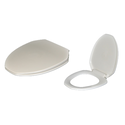 White Seat Toilet Covers, Size/dimensions: 352x425x57 Mm