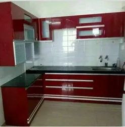 L Shaped Modular Kitchen Interior Designing Service