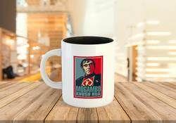 Inner Color Logo Printed Coffee Mug