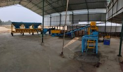 Fully Automatic High Pressured With Vibro Compact Blocks &Bricks Making Plant