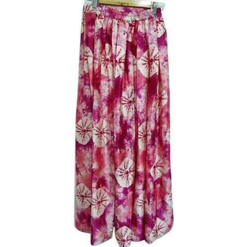 Small & Large Georgette Ladies Skirt