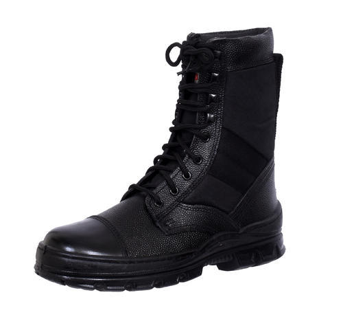 Leather Combat Army Boots For Indian Military