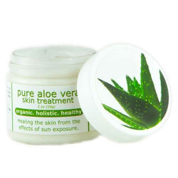 Pure Aloe Vera Skin Treatment Cream