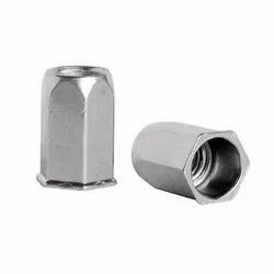 Flat Head Round Body Close End Rivet Nut