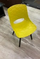 Mebel Plastic Cafe Armless Chair, For Cafeteria