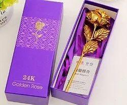 JaipurCrafts 24k Gold Rose