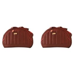Plain Polyester Duffle Luggage Bag