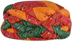 Rajasthani Jodhpuri Pagdi Turban Handicraft Art Handmade Unisex Multicolour Full Bandejh