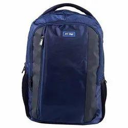 AV Bags Nylon Blue Plain Laptop Bag