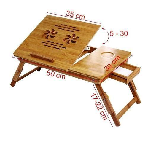 brown iq0001 foldable wooden laptop lapdesk notebook e table for rs rh indiamart com wooden lap desk plans wooden lap desk diy