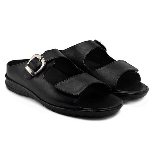 dbdc9ed717c Mens Sandal - Men Orthopedic Diabetic Casual Wear Leather Sandal  Manufacturer from Noida