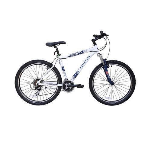Firefox Target 21 Speed Frameset 16 Inch White And Blue Color Performance  Bike