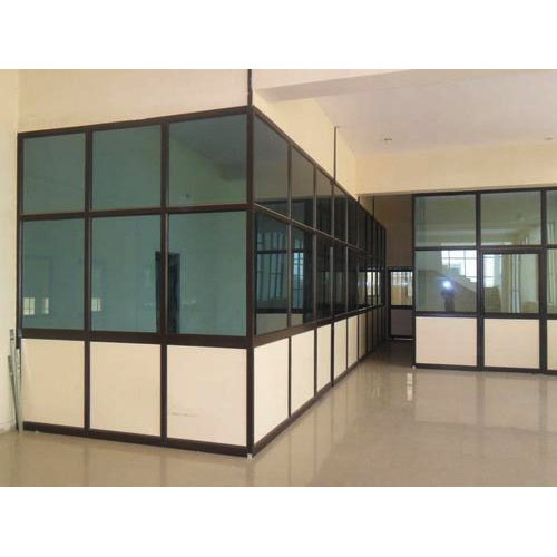 Aluminium And Glass Customized Aluminium Room Partition Rs 150