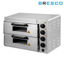 Bresco Double Deck Pizza Oven with Stone