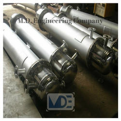 M.D Stainless Steel Condenser, Refrigeration , for Industrial Use