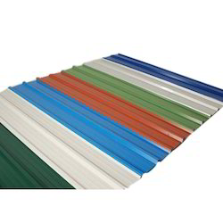 Tata Stainless Steel Color Coated Metal Roofing Sheet, For Industry, Material Grade: SS316 L