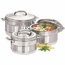Esteelo Stainless Steel Non Electric Food Warmer