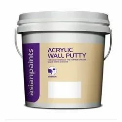 Wall Coating Acrylic Wall Putty, Packaging Type: Bucket