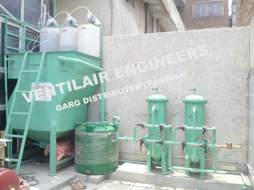 Automobile Effluent Treatment Plant