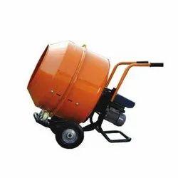 Orange 230L Motor Trolley Type Concrete Mixer