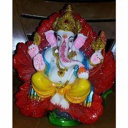 Fiber Lord Ganesh Statue