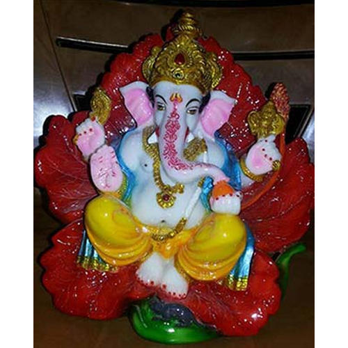 Ganesha Fiber Lord Ganesh Statue, Packaging Type: Packets