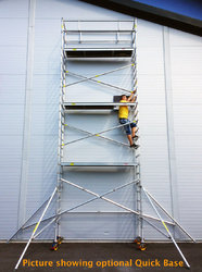Wide Aluminum Scaffolding System