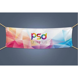 Multicolor Polyester Fabric Banner